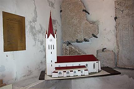 Maquette de l'église Saint Jean