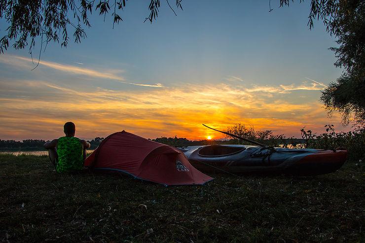 Vous aimez les défis sportifs, vous avez descendu entre autres la Garonne il y a 1 an et maintenant le Danube, comment vous préparez-vous ?