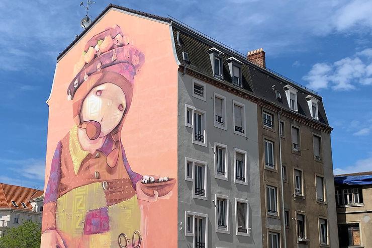 Murs peints et fresques murales : le street art à Mulhouse