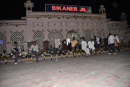 A la gare de Bikaner