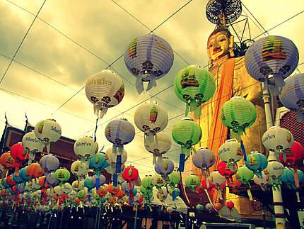 Les lanternes à prières du Big Bouddha