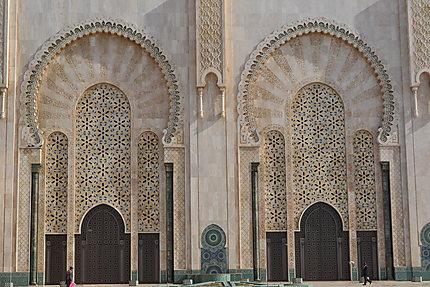 Une mosquée grandiose