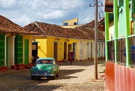Les ruelles colorées de Trinidad