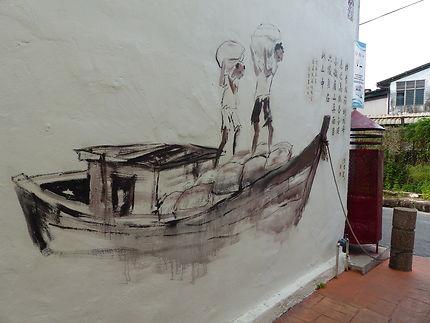 Street art à Malacca
