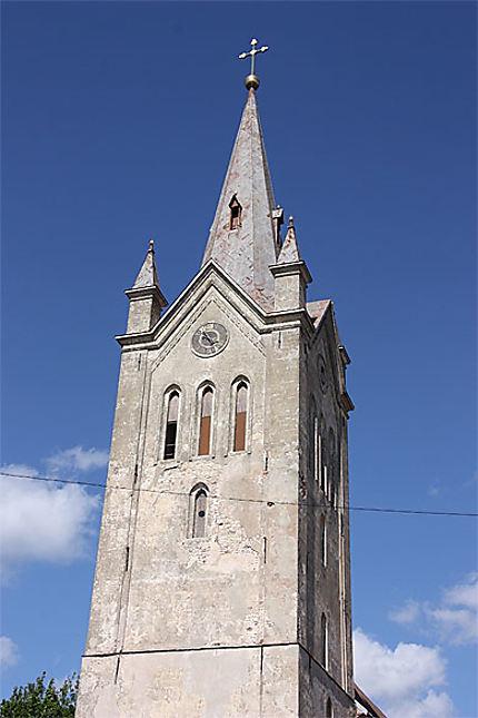 Clocher de l'église Saint Jean