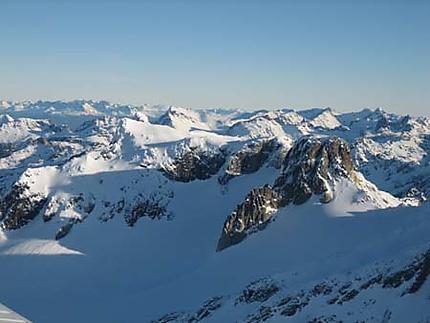 Montagnes autour d'Ushuaïa