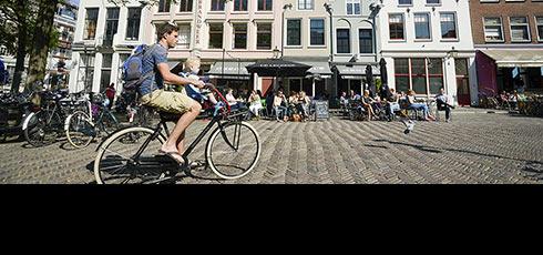 Utrecht à vélo - Office du Tourisme de Hollande