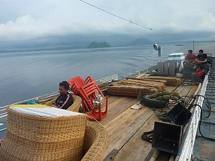 En route pour Pulau Malenge
