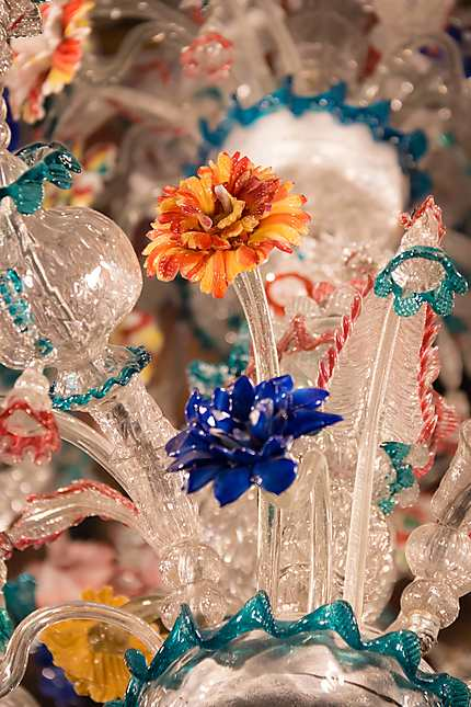 Ca' Rezzonico - Lustre en verre de Murano