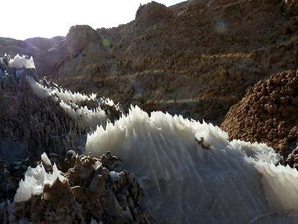Les minéraux des monts Alborz