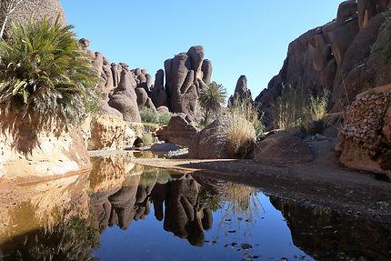 Les gorges de Tislit, Maroc