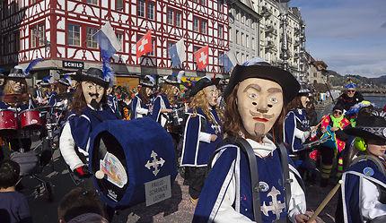 Carnaval de Lucerne en Suisse