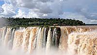 Les chutes d'Iguazú, grandeur nature
