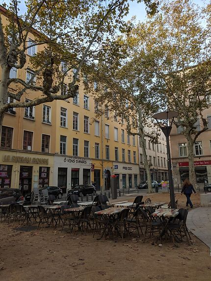 Terrasse toujours sortie à Lyon