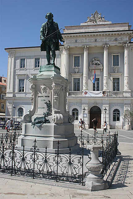 Statue de Giuseppe Tartini