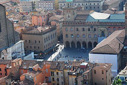 Bologne - Piazza Maggiore - Italie