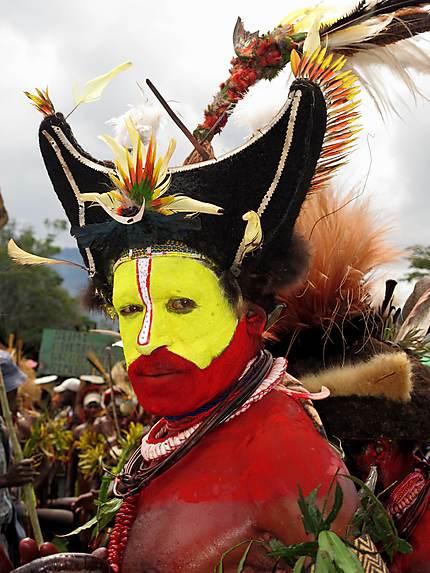 Tribu Huli au goroka show