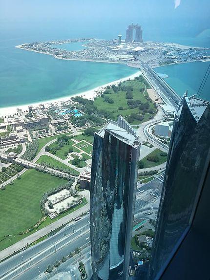 Panorama de la Tour à Abu Dhabi
