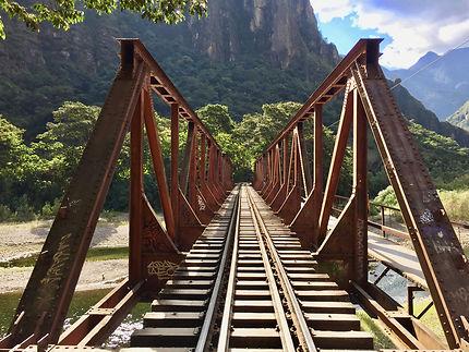 Le pont du Machu Picchu