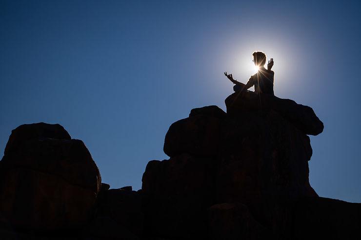 Méditation avec les géants