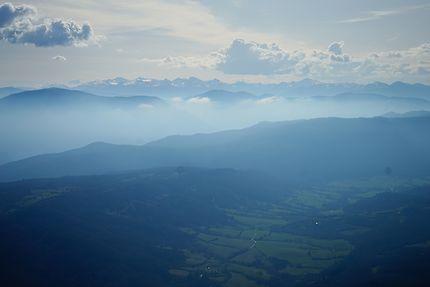 Pic Carlit vu du Mont Bugarach