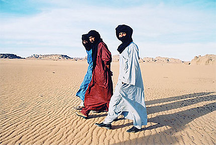 Les touaregs du Sahara