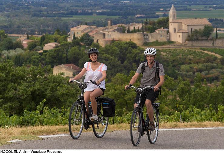 Provence - Découvrir les Côtes du Rhône à vélo