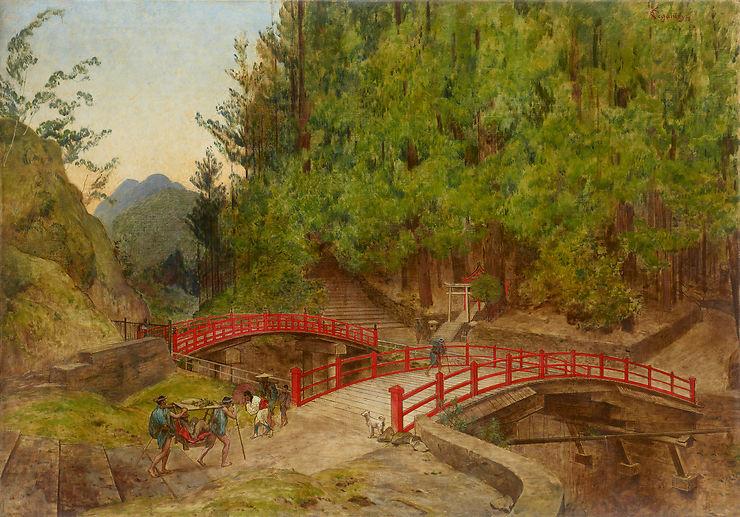 L'exposition « Enquêtes vagabondes, le voyage illustré d'Émile Guimet en Asie »