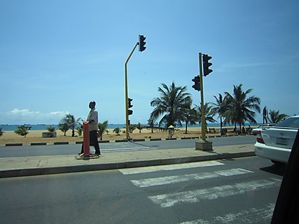 Lomé: bord de mer