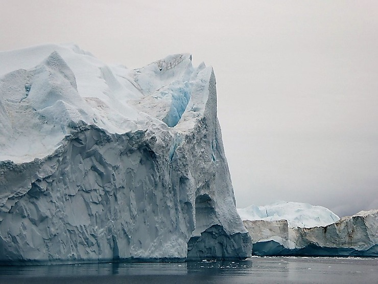 Fjord glacé (icefjord) d'Ilulissat, Groenland