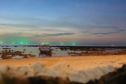 Ko Lanta, une soirée sur la plage