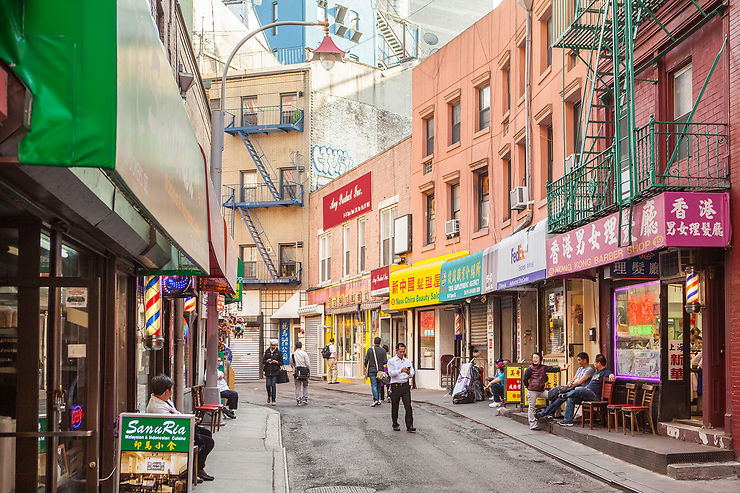 Balade dans le Chinatown new-yorkais