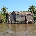 Maisons sur pilotis de Sinamaica