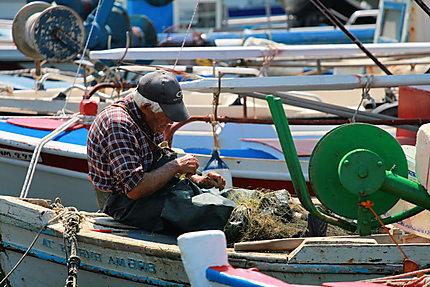 Pêcheur à Limnos