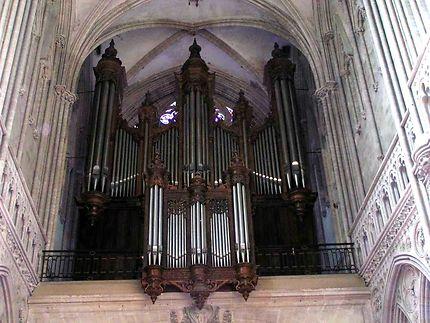 Patrimoine cathédrale bayeux orgue cavaillé-coll