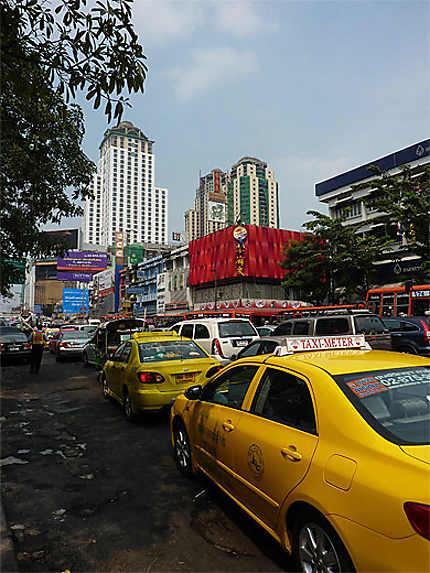 Dans les embouteillages de Bangkok