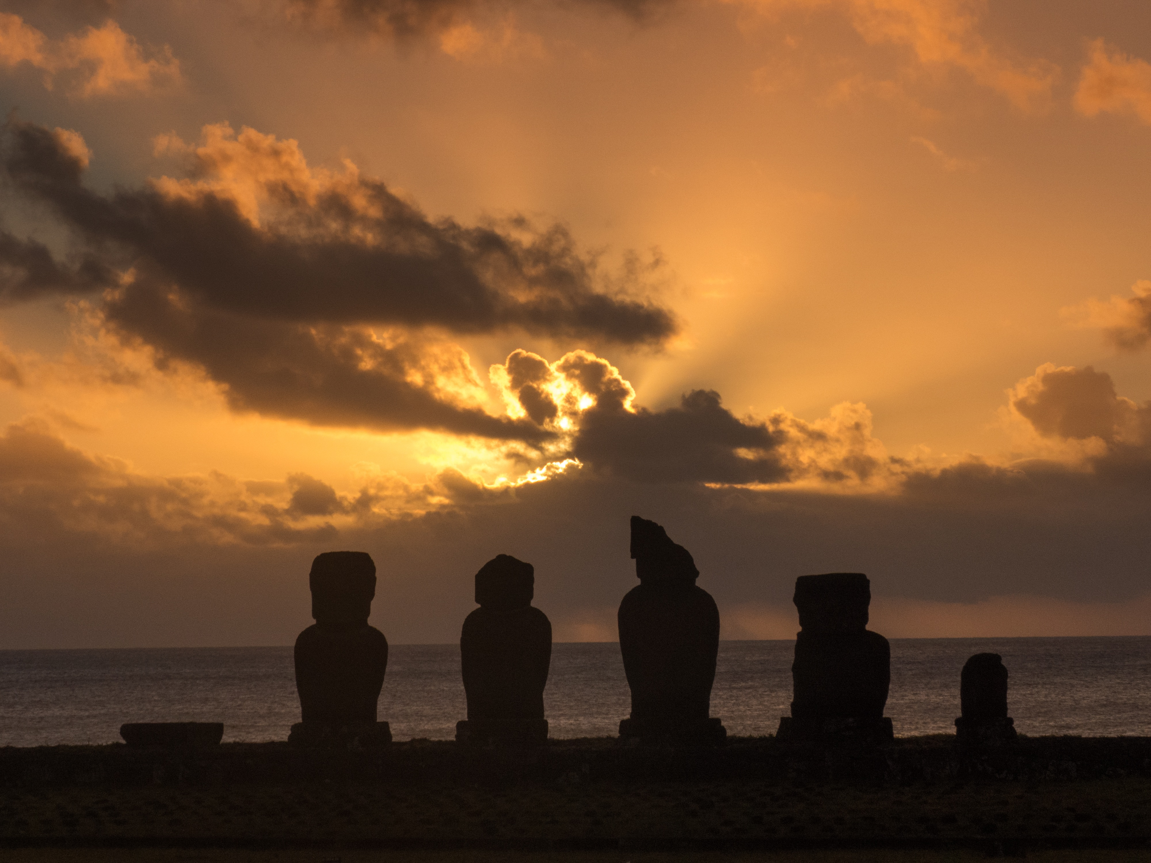 Ahu Tahai - Île de Pâques
