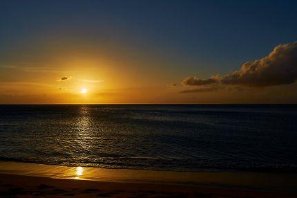 Grande-Anse au Soleil couchant