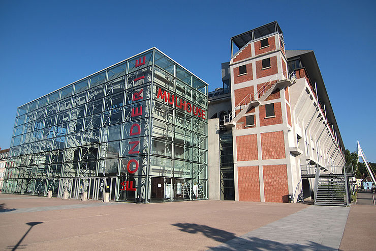 Les cités ouvrières et anciennes friches industrielles de Mulhouse