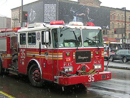 Pompiers à Harlem