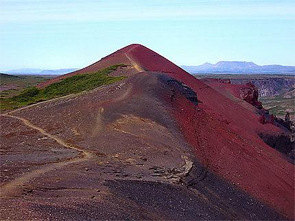 Le volcan Raudholar