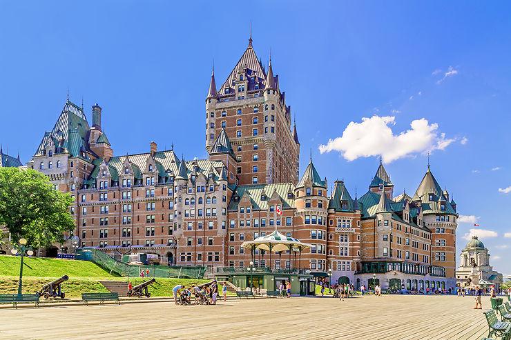 Le château Frontenac, icône de Québec