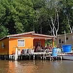Maison sur pilotis de Sinamaica