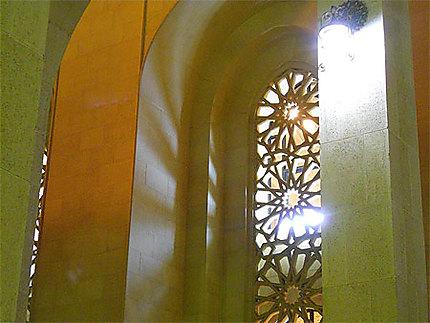 Fenêtre de la mosquée Al Fateh