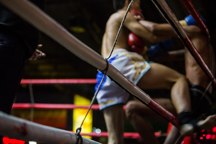 La boxe muay thaï, sport national