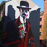 Sozyone, street art à Charleroi
