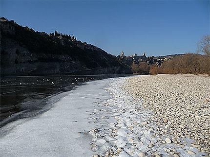 L'Ardèche prise de glaces !! le 7 février 2012