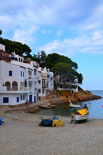 La petite ville de Begur, Costa Brava