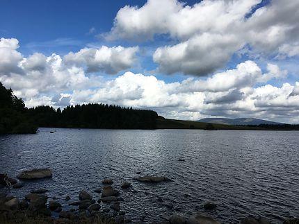 Lac en Écosse -Loch Dornal
