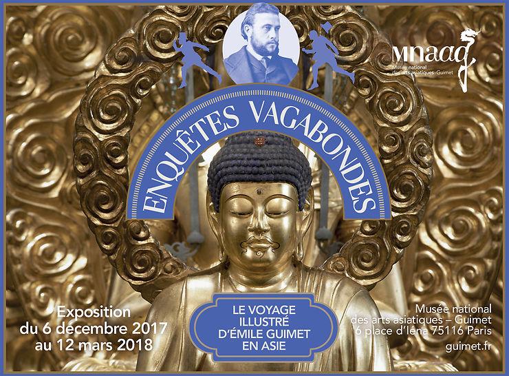 Paris : Enquêtes vagabondes, le voyage illustré d'Émile Guimet en Asie